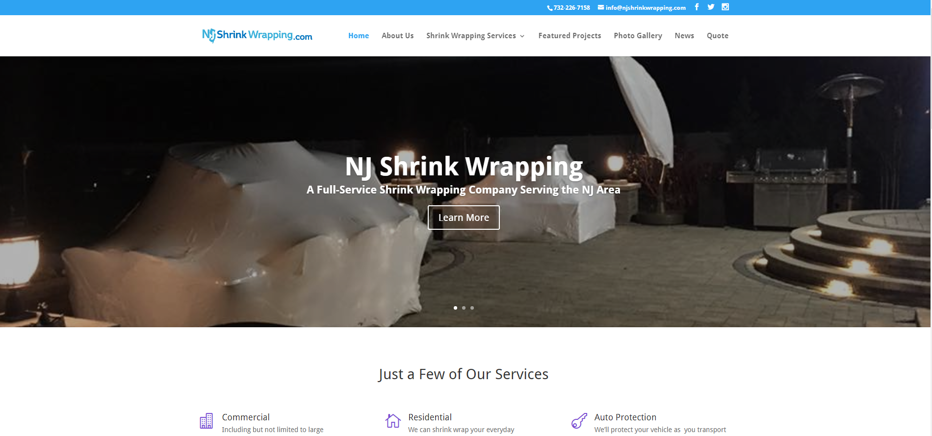 NJ Shrink Wrapping
