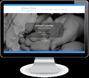 Jeremiah's Journey - new website design by DigitalEffex Web Hosting & Design