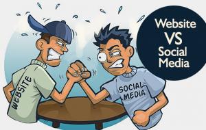 DigitalEffex Web Hosting and Design - Website vs Social Media