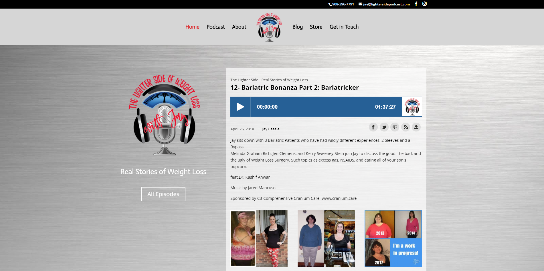 New Podcast Website Launched by DigitalEffex Web Hosting & Design in Pensacola