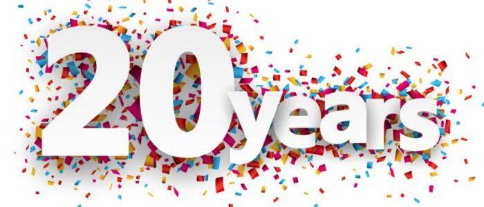 DigitalEffex Celebrating 20 Years in Business!